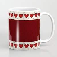 ace Mugs featuring Ace by Anne Seltmann