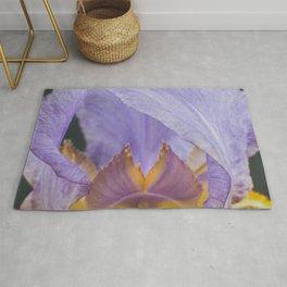 Iris Flower Rug