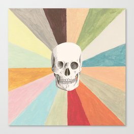 Skull is Cool Canvas Print