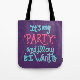 It's my party Tote Bag