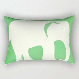 Sweet Elephant Rectangular Pillow