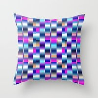 blur Throw Pillows featuring Blur by Aimee St Hill