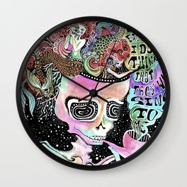 I heard the mermaids Wall Clock
