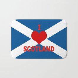 Scotland Flag Saltire Bath Mat