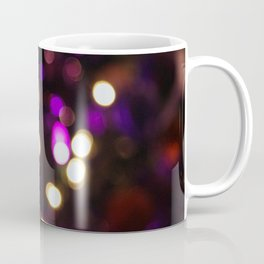 Purple & Gold Bokeh Coffee Mug