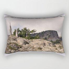 DARK SIDE OF TABLE MOUNTAIN Rectangular Pillow