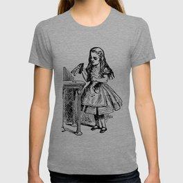 Drink Me Alice in Wonderland T-shirt