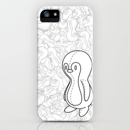 Penguin Doll iPhone Case