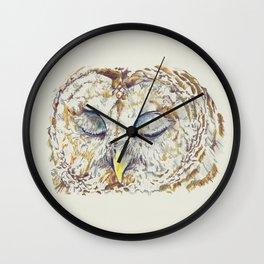 Arthur Owl Wall Clock