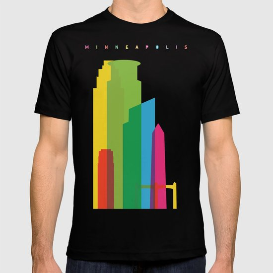 Shapes of Minneapolis T-shirt