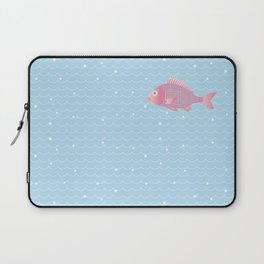 Snapper and wave Laptop Sleeve