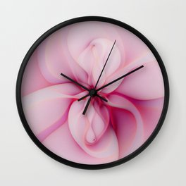 Raspberry Creme Delight Wall Clock