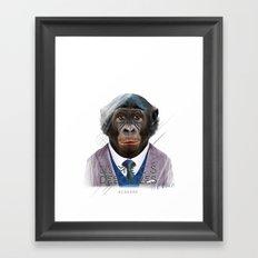 Gorille Framed Art Print