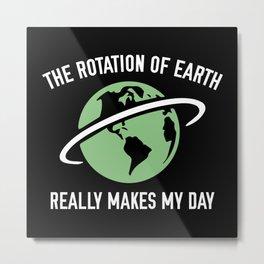 The Rotation Of The Earth Metal Print