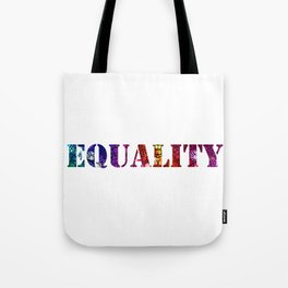 Equality For All 3 - Stone Rock'd Art By Sharon Cummings Tote Bag
