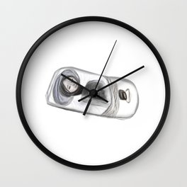 Confessions of a shopaholic mind Wall Clock