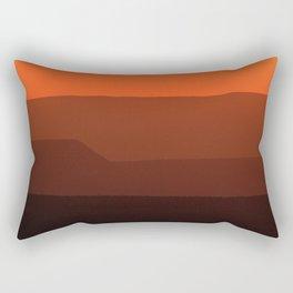 Fish River Canyon Sunset Rectangular Pillow