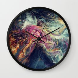 Everybody wants to rule the world Wall Clock
