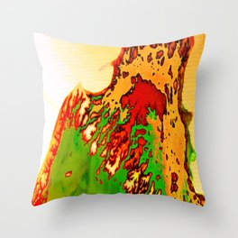 CONDIMENTS Throw Pillow