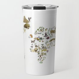 Animal Map Travel Mug