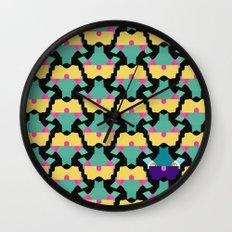 Origami Birds Wall Clock