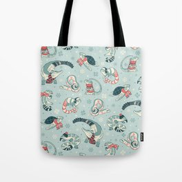 Winter herps Tote Bag