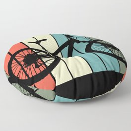 Retro Cycopath Floor Pillow