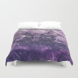 Amethyst Gem Dreams Duvet Cover