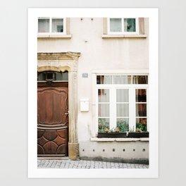 Facade I Art Print
