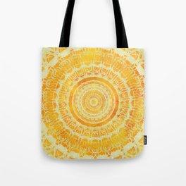 Sun Mandala 4 Tote Bag