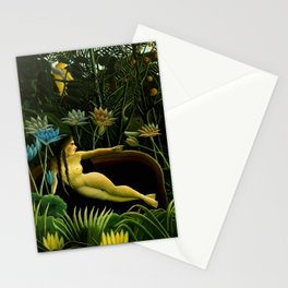"""Henri Rousseau """"The dream"""", 1910 Stationery Cards"""