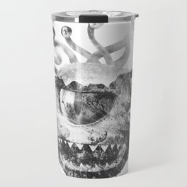 Beholder (Black & White) Travel Mug
