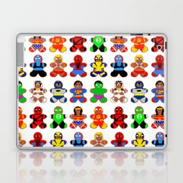 Superhero Gingerbread Man Laptop & iPad Skin