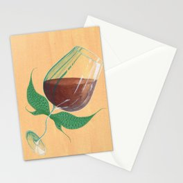Wine Fairies 4 - Cabernet Sauvignon Stationery Cards