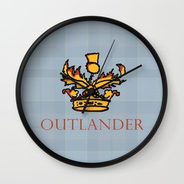 Outlander Wall Clock