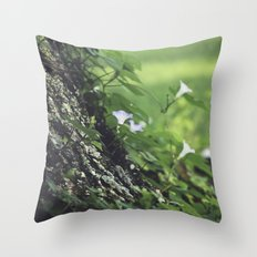 Thoughts, Intertwined Throw Pillow