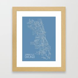 Communities of Chicago Framed Art Print