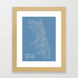Communities of Chicago Framed Art Print