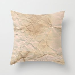 Papered over Throw Pillow