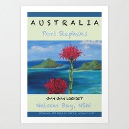 Art Travel Poster Gan Gan Art Print
