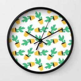 Cactus No. 3 Wall Clock