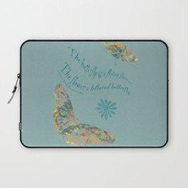 """Butterflies like Flowers - """"Painted"""" Laptop Sleeve"""