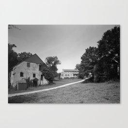 Mill Tract Farm, PA 1958 Canvas Print