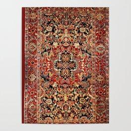 Heriz Northwest Persian Carpet Print Poster