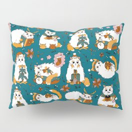 Christmas cats Pillow Sham