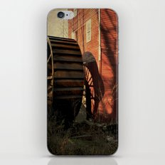 The Old Mill Wheel iPhone & iPod Skin