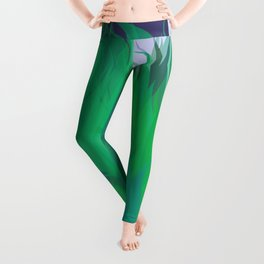 After The Rain Emerald Green Leggings