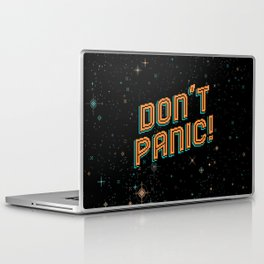 Don't Panic! Pixel Art Laptop & iPad Skin