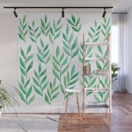 Wanderlust Nature is Calling - Green Palette Wall Mural
