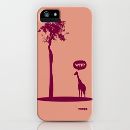 WTF? Jirafa bis! iPhone Case